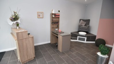 Nail desk. Photo: Steve Smailes for The Lincolnite