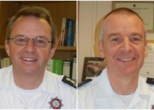 (L-R) Nick Borill and Mick Green have been appointed as chief and deputy chief at Lincolnshire Fire and Rescue.