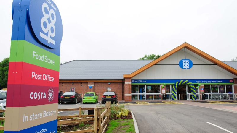 Lincolnshire Co-op opened a new food store and post office in Old Leake, near Boston, this year.