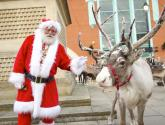 Santa and his reindeer to land in Lincoln this week