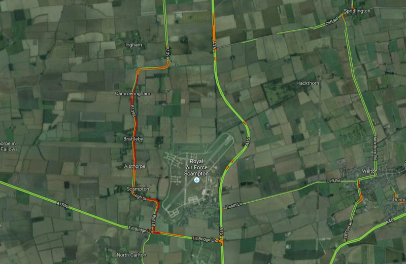 Motorists have faced delays in the area for much of the morning. Photo: Google