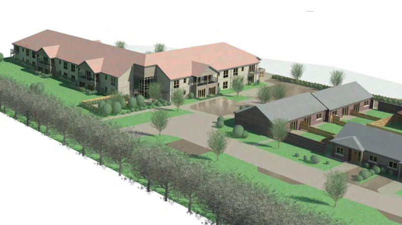 The first phase of the development would be affordable apartments.