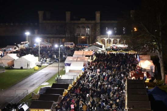 Lincoln Christmas Market continues to bring thousands to Lincoln every year. Photo: Steve Smailes for The Lincolnite