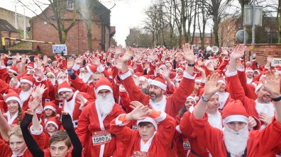 Ready, set, Ho! Ho! Ho! Photo: Steve Smailes for The Lincolnite