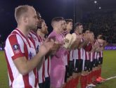 Lincoln City beat Ipswich Town and move into FA Cup fourth round