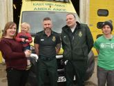 'My angels in diguise': Lincoln man reunited with ambulance crew who saved his life