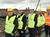 Stunning views: Tour the site of new luxury Lincoln apartments