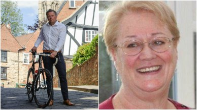 Acting Chair of Lincolnshire Sport Dan Ellmore and CEO Janet Inman.