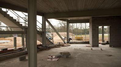 The ground floor will also include a restaurant with outdoor terrace.