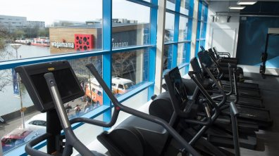 The new gym overlooks the Brayford in Lincoln. Photo: Steve Smailes for The Lincolnite