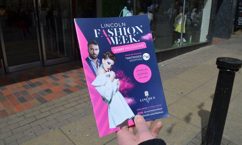 Lincoln Fashion Week programme