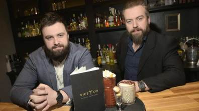 Vice & Co owners Ben Webb and Robbie Dowdall. Photo: Steve Smailes for The Lincolnite
