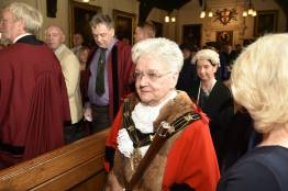 Handing over the reigns: Former mayor Councillor Yvonne Bodger. Photo: Steve Smailes for The Lincolnite