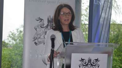 Chief Executive of the City of Lincoln Council Angela Andrews. Photo: The Lincolnite