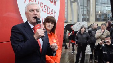Labour Shadow Chancellor John McDonnell. Photo: Emily Norton for The Lincolnite