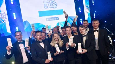 The 2017 Lincolnshire Tech Awards winners. Photo: Steve Smailes for The Lincolnite