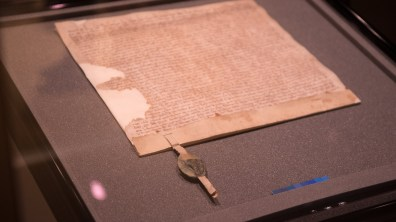 The Magna Carta will be back on display in early 2018. Photo: Steve Smailes for The Lincolnite