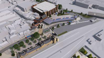 Plans for the Transport Hub
