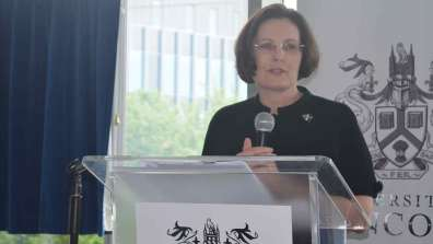 Ursula Lidbetter, Chief Executive of the Lincolnshire Co-operative. Photo: The Lincolnite