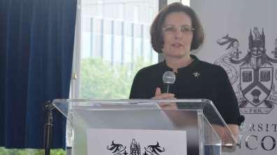 Ursula Lidbetter, Chief Executive of the Lincolnshire Co-operative. Photo: The Lincolnite