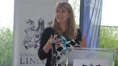 Professor Carenza Lewis. Photo: The Lincolnite