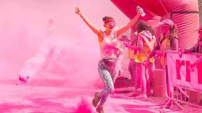 The Colour Dash took place on May 13. Photo: Instinctive Photography
