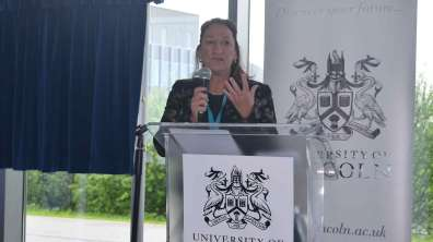 Vice Chancellor Professor Mary Stuart. Photo: The Lincolnite