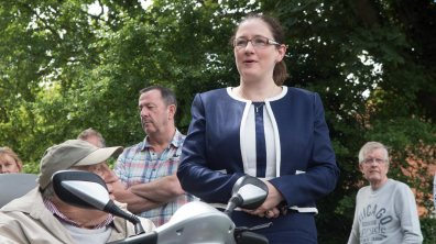 Sleaford and North Hykeham MP Caroline Johnson. Photo: Steve Smailes for The Lincolnite