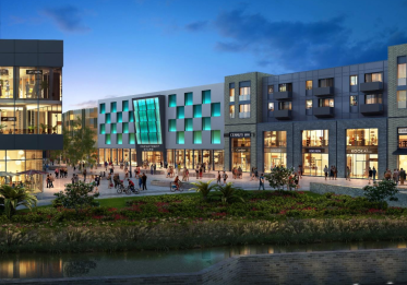 Artist impression for the new St Marks complex