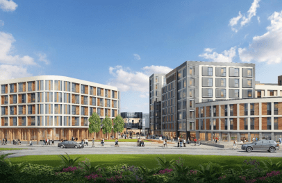 Artist impressions for the new St Marks complex