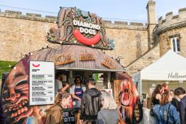 Attendees were treated to comedy and a selection of street food.