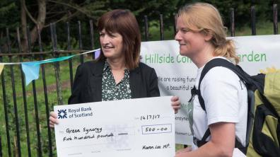 Lincoln MP Karen Lee donated £500 to the project. Photo: Steve Smailes for The Lincolnite