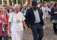 Lincoln faith walk next week