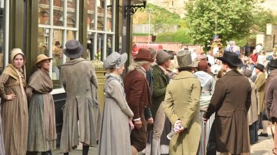 Lincoln was a great set for the drama story from 1819. Photo: Steve Smailes for The Lincolnite
