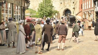 More than 100 actors and extras were involved. Photo: Steve Smailes for The Lincolnite