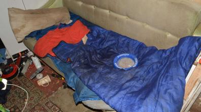Victims were forced to live in foul conditions