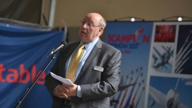 Scampton Airshow Chairman and RAF Charitable Trust Trustee Alan Smith. Photo: Steve Smailes for The Lincolnite