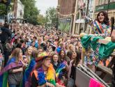 Rainbow flags galore as crowds gather for Lincoln Pride 2017
