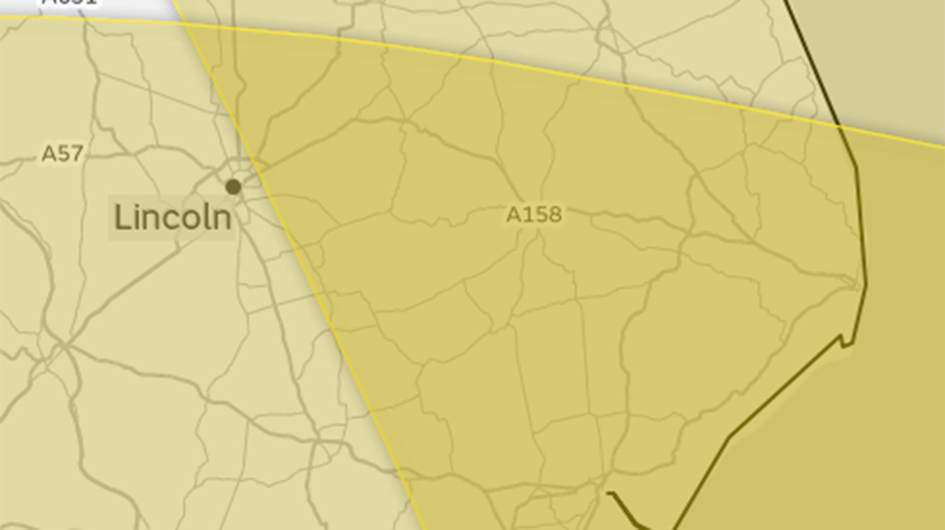 Warning of 'danger to life' as Storm Caroline sweeps across northern UK