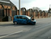 Road now clear after Lincoln Canwick Road crash disruption