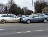 Delays on Canwick Hill after three-car crash