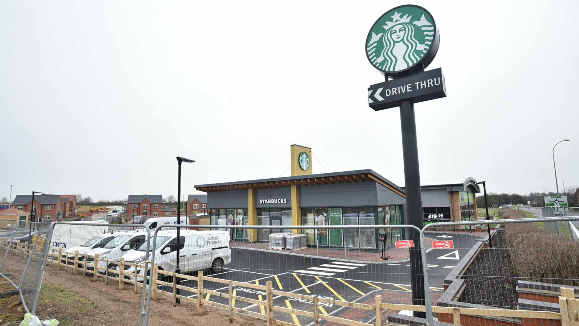 Opening date set for Lincoln\'s first Starbucks drive-thru