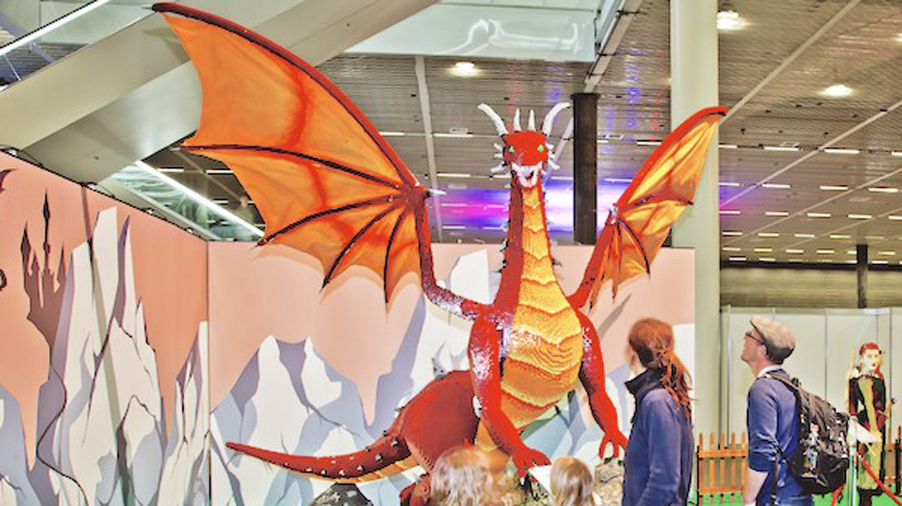 World Of Medieval Lego Comes To Lincoln Castle