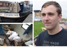 "Over £1,000 raised! Lincoln houseboat theft victim ""very grateful"""