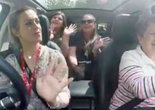 Wragby school's carpool karaoke viral video