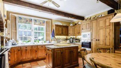 Inside the kitchen. Photo: Savills
