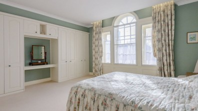 One of the bedrooms at the Eastgate property. Photo: Savills