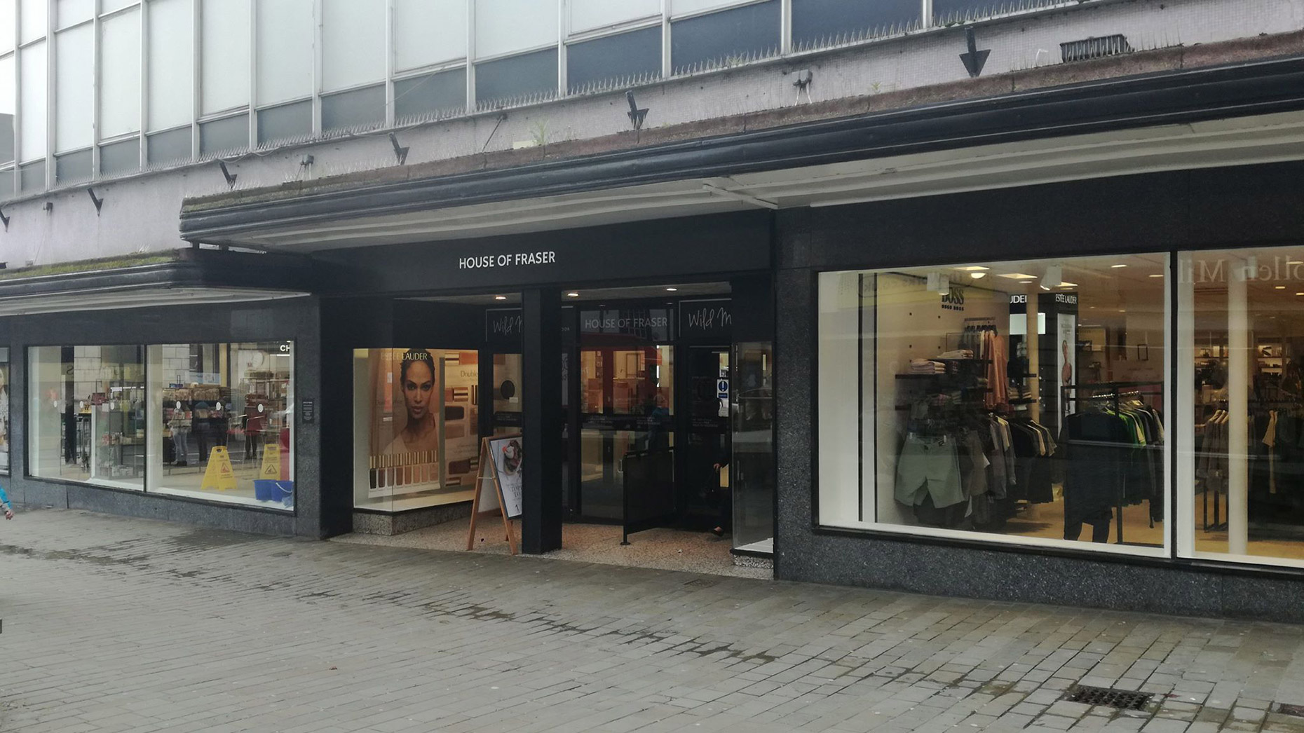 Could House of Fraser in Chichester close?