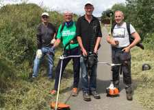 Volunteers step up to recover overgrown commuter link