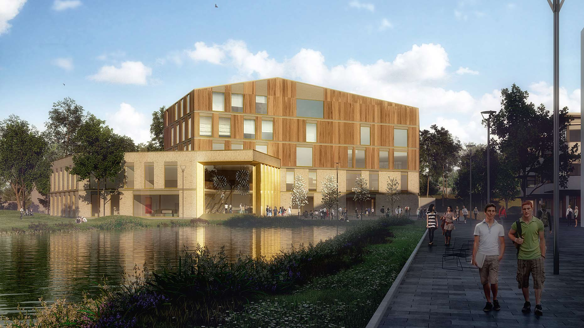 Designs revealed for £21m lincoln medical school